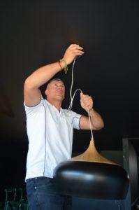Peter Stafford marrickville lights installation