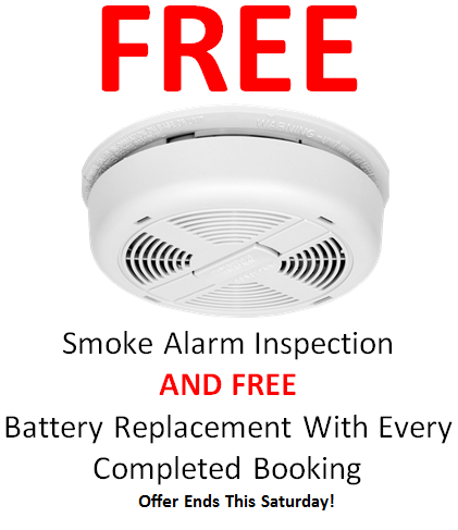 Ambient Electrical Free smoke alarm inspection in Eastern Suburbs